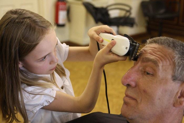 Mammalian Diving Reflex, Haircuts by Children
