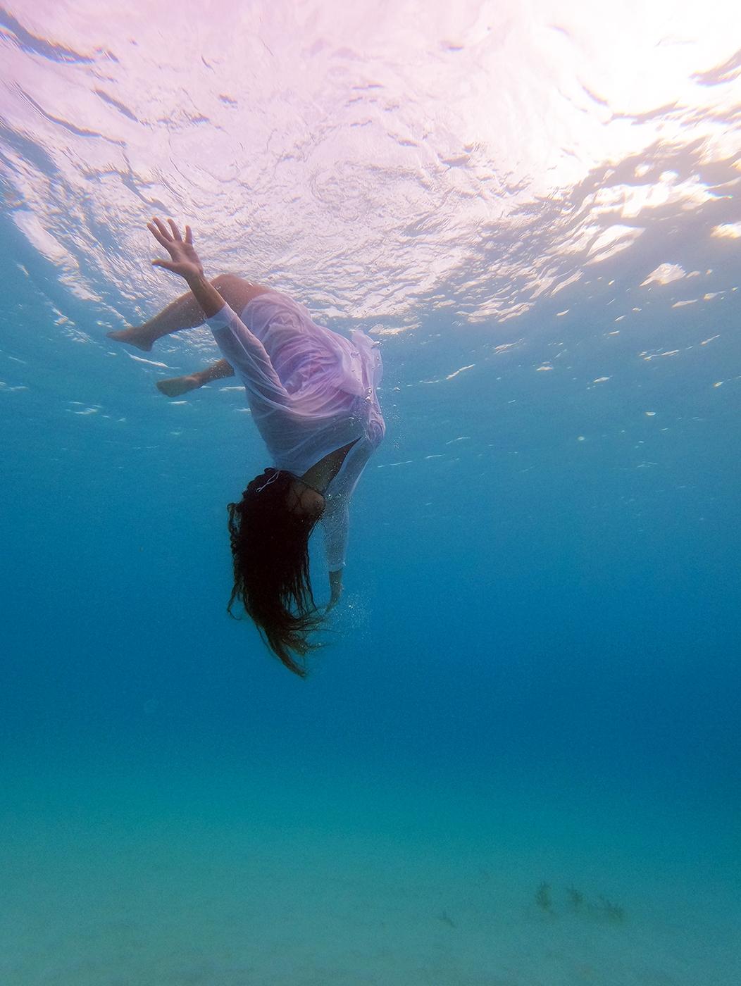 Seascape, underwater photograph (2021)