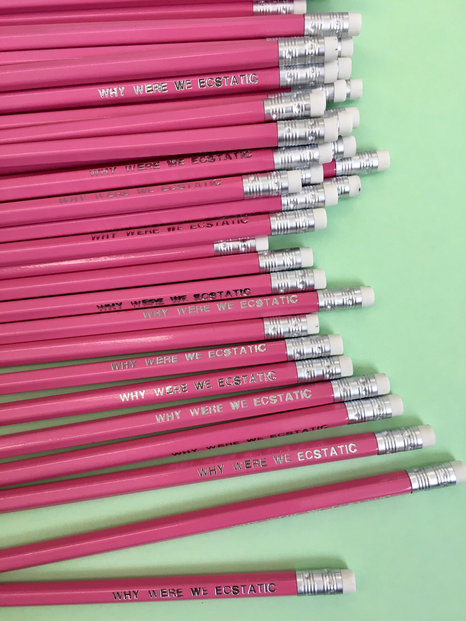 Pride: WHY WERE WE ECSTATIC Limited edition pencil