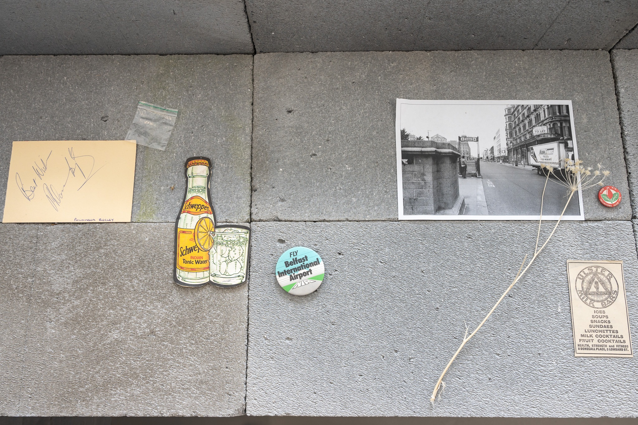 'Irish Modernisms' Gallery 1 shot of 'Modern Convenience' (2021) by Ben Weir and 'Death of the Banshee' (2021) by Phillip McCrilly