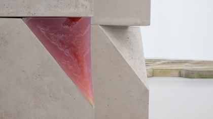 'Irish Modernisms' Gallery 2 shot of 'Massives' by Rachael Campbell-Palmer (2021)