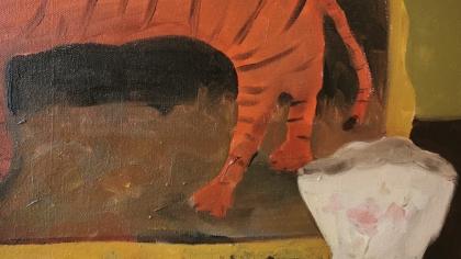 Tyger Tyger Oil on Canvas 2020 Gemma Kirkpatrick