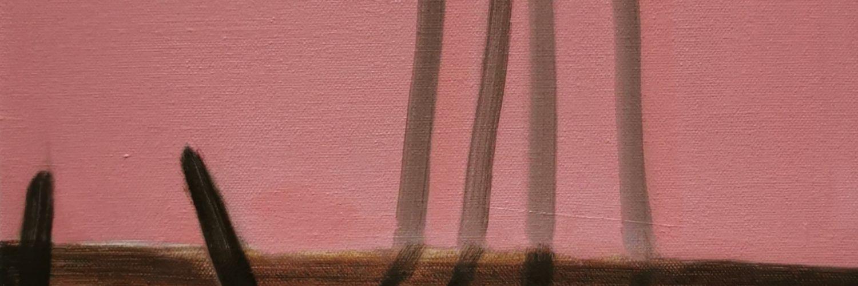 Growing Pains Oil on Canvas 2020 Gemma Kirkpatrick