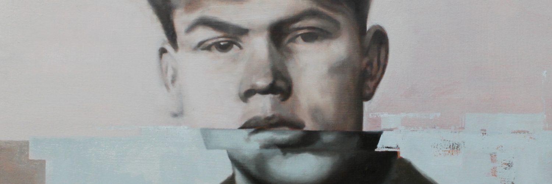 Marinus van der Lubbe oil on canvas 2019 Craig Donald