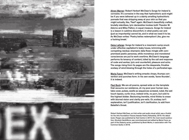 Songs for Ireland sample spreads 1008x745