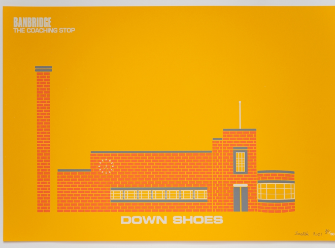 Down Shoes James Ashe