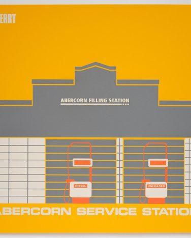 'Abercorn Service Station' Irish Modernisms print – James Ashe
