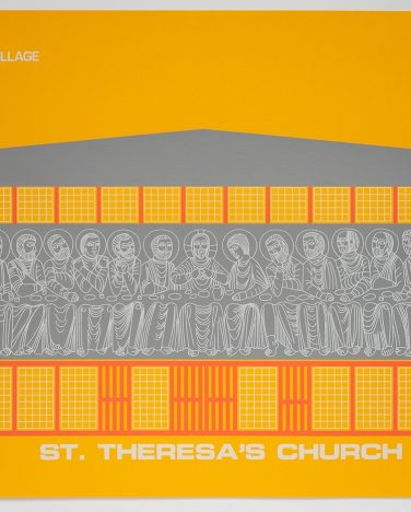 'St. Theresa's Church' Irish Modernisms print – James Ashe