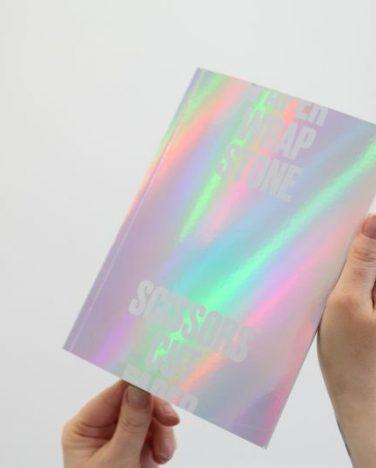 'Scissors Cut Paper Wrap Stone' exhibition publication