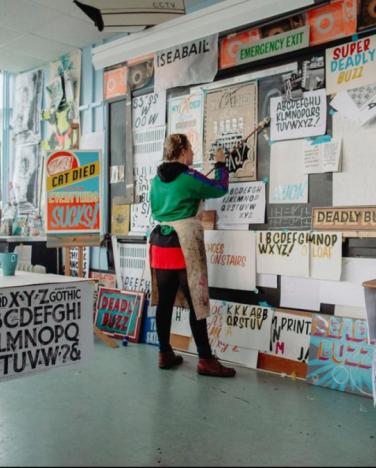 Irish Modernisms: Design Workshop with Laura Nelson