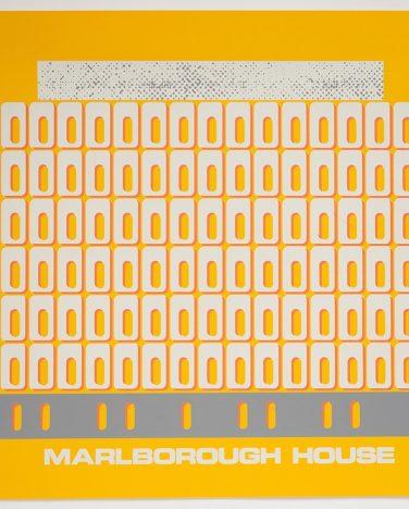 'Marlborough House' Irish Modernisms print – James Ashe