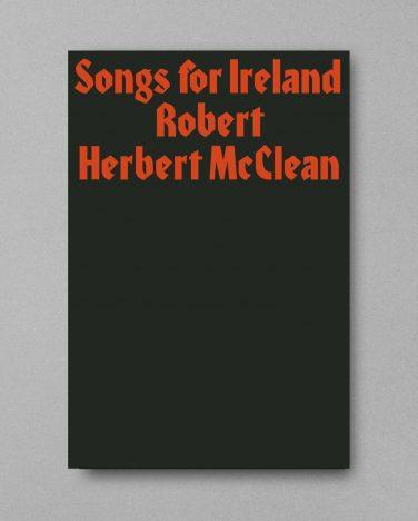 'Songs for Ireland' guest publication – Robert Herbert McClean
