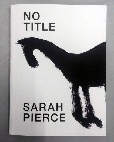 'No Title' publication – Sarah Pierce