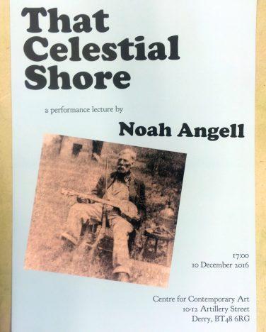 'That Celestial Shore' poster – Noah Angell